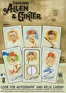 Best 2018 topps allen and ginter rip cards Reviews