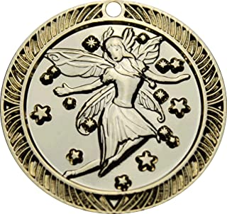 Zahnfee.me Medalla Magia del Ratoncito Pérez - Bronce Dorado