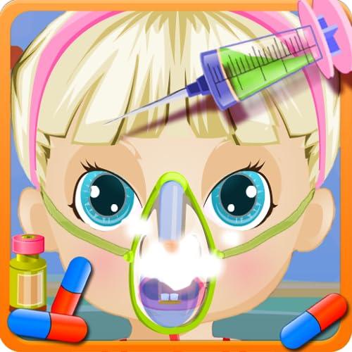 Baby Game Sick Girl