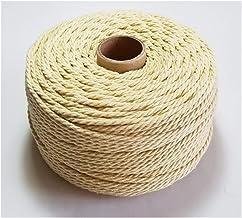 YGLONG Twine Dikker Katoen Touw 60m/roll Kleurrijke Touw Macrame Cords Voor Party Bruiloft Decoratie Accessoire DIY Jute T...