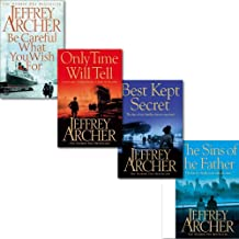 Jeffrey Archer The Clifton Chronicles Series Collection 4 Books Set (Best Kept Secret, The Sins Of The Father, Be Careful What You Wish For)
