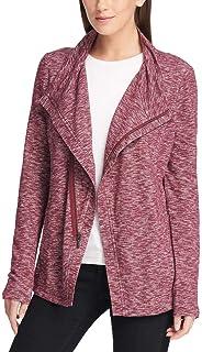 GH Bass Ladies` Knit Zip Cardigan
