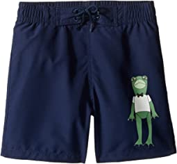mini rodini - Frog Swimshorts (Infant/Toddler/Little Kids/Big Kids)