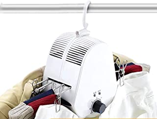 Electric Clothes Dryer Electric Dry Hanger Indoor Dryer Portable Hanger Detachable 0-5 Hours Timed Double Bracket For Rain...