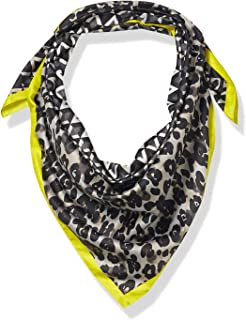 Vince Camuto Women's Woven Printed Square Scarf