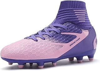 Boys Girls Soccer Football Cleats Shoes(Toddler/Little Kid/Big Kid)