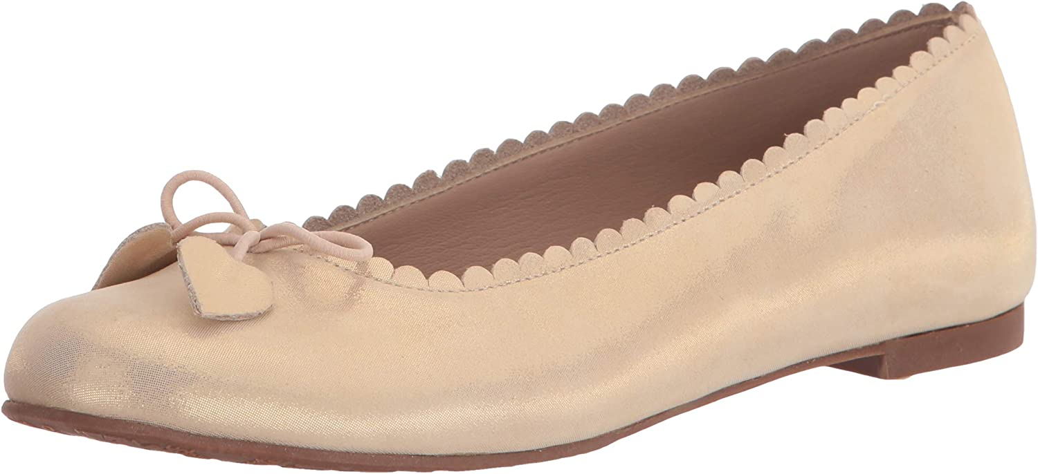 Elephantito Unisex-Child Scalloped Special price for a limited time Ballerina Ballet Flat Ranking TOP20