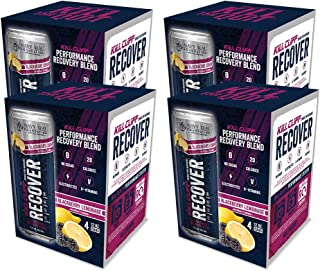 Kill Cliff Electrolyte Recovery Drink, Blackberry Lemonade, 12 Ounce, 16 Count; Low Cal, No Sugar