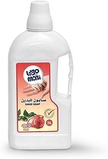 صابون سائل لليدين من موبي، برائحة الورد، 3 لتر