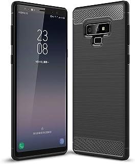 RKINC Case for Samsung Galaxy Note 9,TPU Cover Ultra Thin, Lightweight Carbon Fiber design Flexible Bumper Rubber Protect...