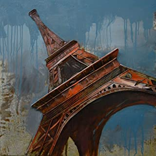 The Urban Port Antique Eiffel Tower Rustic Metal Wall Decor