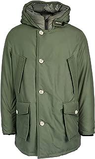 Woolrich Luxury Fashion Mens WOCPS2882UT0108GST Green Outerwear Jacket | Fall Winter 19