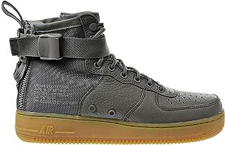 NIKE W SF AF1 Mid Womens Fashion-Sneakers AA3966-004_11 - Dark Stucco/Dark Stucco-Gum Light Brown