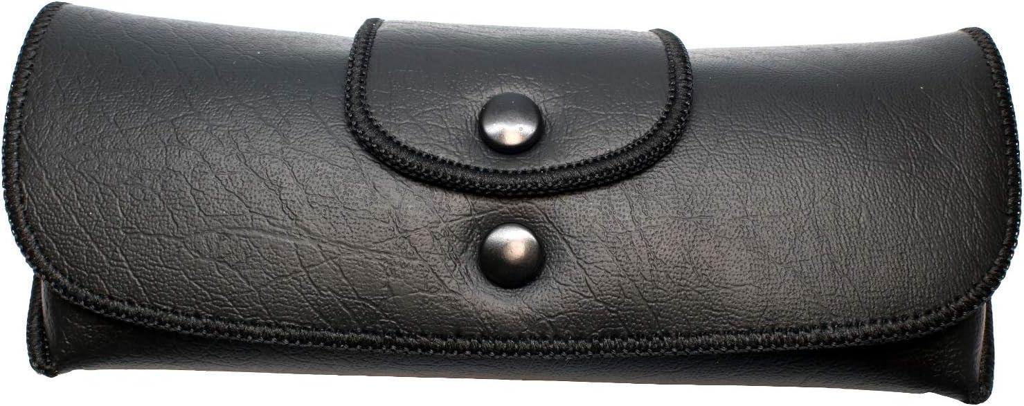Beltloop Vintage Style Eyeglass case (Black)