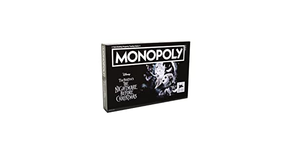 Monopoly The Nightmare Before Christmas Collectors Edition SG/_B0763TMTFH/_US