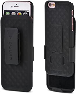 iPhone 6S / 6 Case, Aduro Combo Shell & Holster Case Super Slim Shell Case w/Built-in..