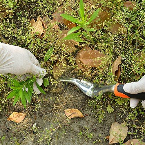 GANCHUN Hand Weeder Tool,Garden Weeding Tools with Ergonomic Handle,Garden Lawn Farmland Transplant Gardening Bonsai Tools