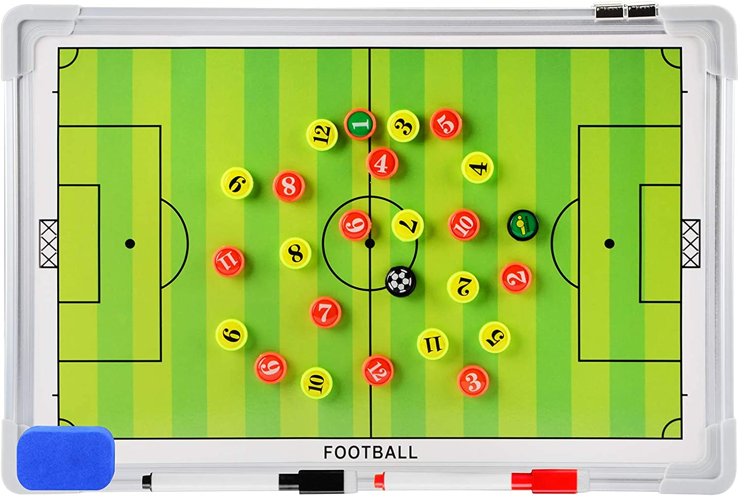 Discount mail order LEAP Magnetic Coaching Board Basketball Coaches Soccer Clipboard Very popular