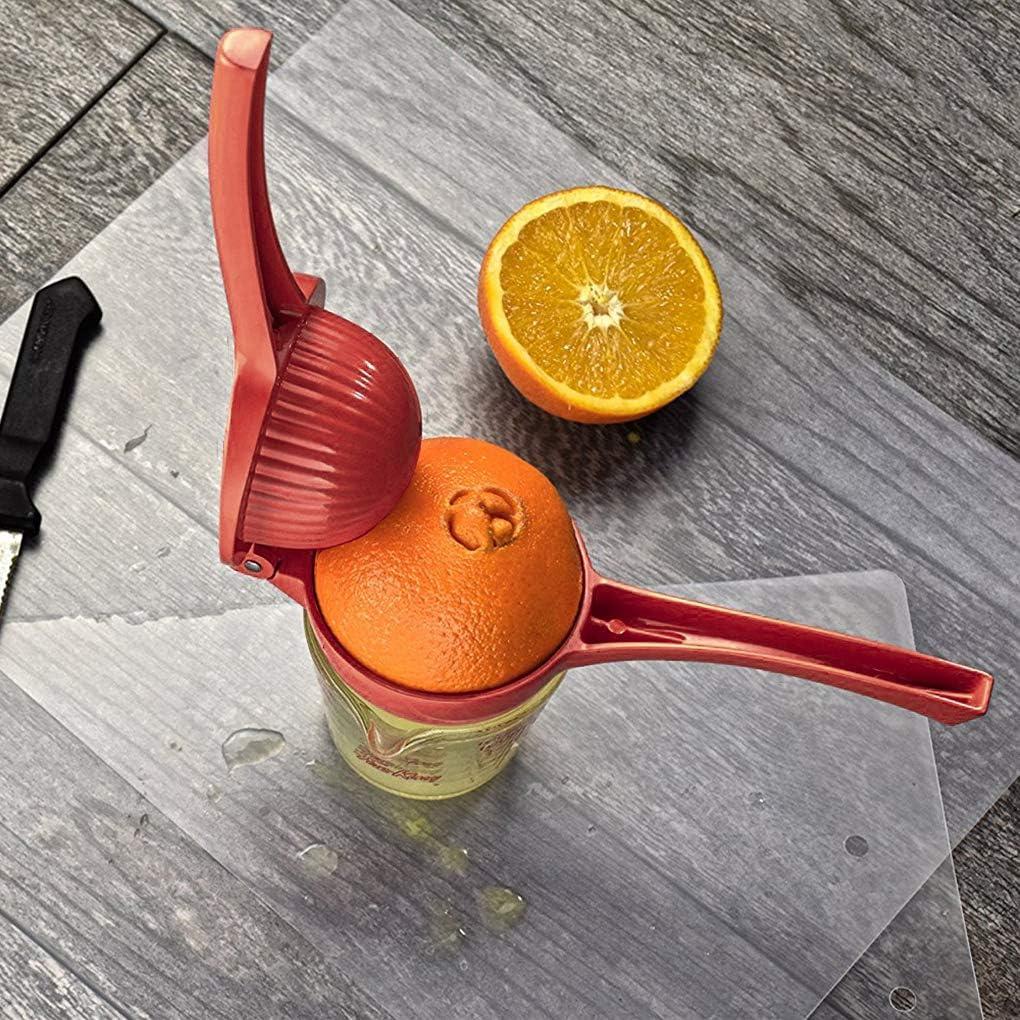 Exprimidor del limón Exprimidor Aluum aleación Exprimidor Exprimidor de Fruta Prensa de la Mano Manual 22x7.5cm Exprimidor Exprimidor Naranja