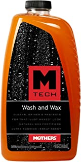 Mothers 25678-6 M-Tech Wash and Wax, 48 fl. oz., (Pack of 6)