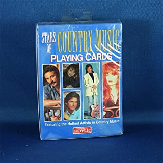 Hoyle Stars of Country Music Playing Cards Collectable and Playable