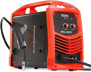 Röhr MIG-200FI - Soldador MIG Inverter con Gas de 200 Amp -