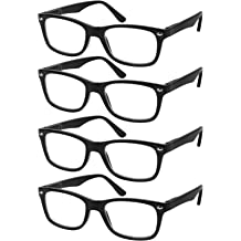 eyewear frames buy eyeglass frames online at low prices at ubuy Ray-Ban Aviators reading glasses set of 4 black quality readers spring hinge glasses for reading for men and