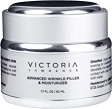 Rich Retinol Night Cream & Deep Wrinkle Filler with Hyaluronic Acid, Vitamin C & E   Moisturizer Face Cream with Retinol for All Skin Types   Anti Aging Face Cream   Fragrance, Paraben & GMO FREE