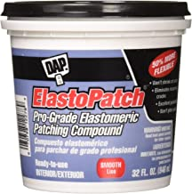 Dap 12278 Elastomeric Patch and Caulking Compound, 1-Quart Tub, Packaging may vary