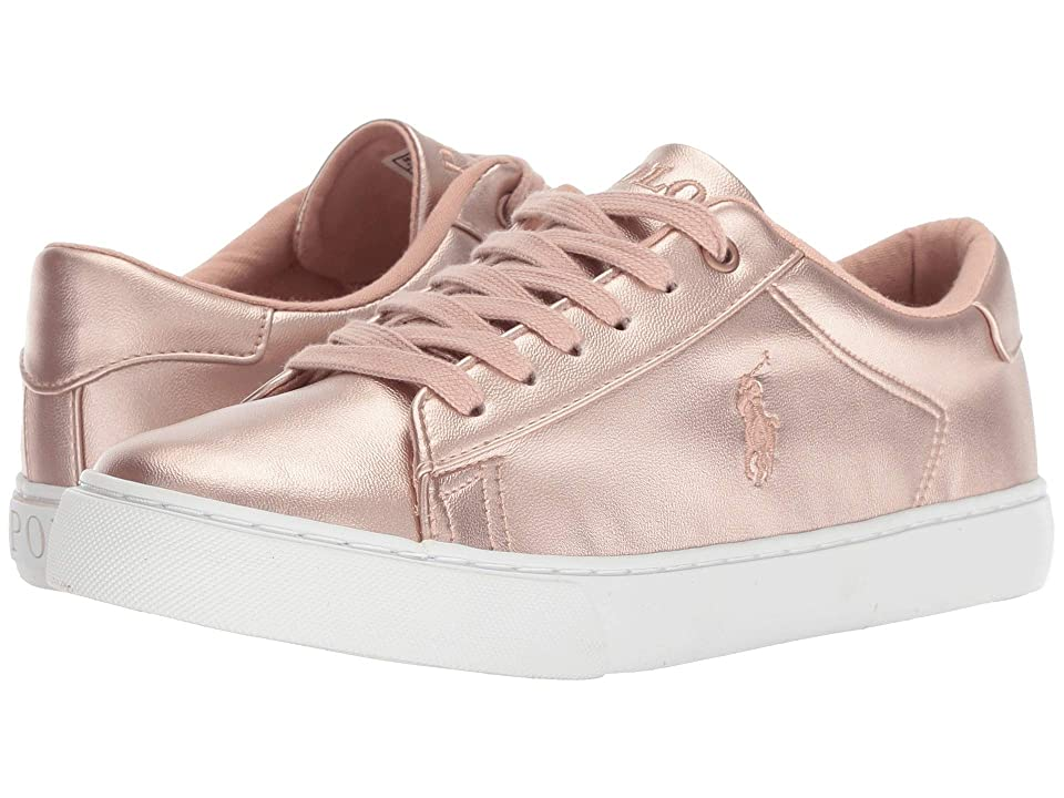 Polo Ralph Lauren Kids Easten (Big Kid) (Pink Metallic) Girl