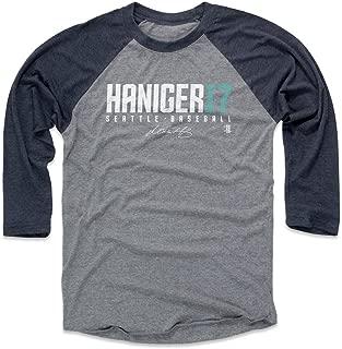 Mitch Haniger Shirt - Seattle Baseball Raglan Tee - Mitch Haniger Haniger17