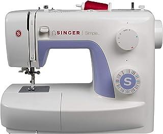 Singer Simple 3232 Machine à Coudre Blanche/Mauve 32 Points Ajustables