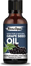 Aromatique GrapeSeed Oil Cold Pressed 100% Pure and Natural Carrier Oil,Grape Seed Oil for Skin and Hair -30ML