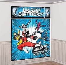 Power Rangers 'Ninja Steel' Wall Poster Decorating Kit (5pc)