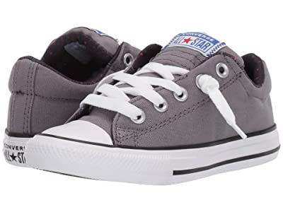 Converse Kids Chuck Taylor(r) All Star(r) Street (Little Kid/Big Kid) (Mason/White/Black) Boy