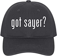 The Town Butler got Sayer? - A Nice Comfortable Adjustable Dad Hat Cap