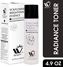 WBM Natural Soothing Radiance Facial Toner| Alcohol Free With Rose Water And Aloe Vera | Organic Anti Aging Ingredients for Sensitive Skin, Combination, Acne, and Oily Skin | Skin Toner 4.9 Oz /140 ml