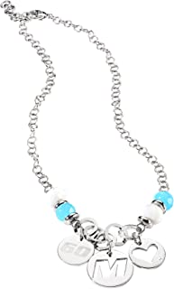 Miss Sixty - SMEG03 - Chance - Collier Femme - Turquoise - Agathe Blanche - 3 Charms
