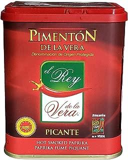 Rey De La Vera, Pimenton Hot, 2.6 Ounce