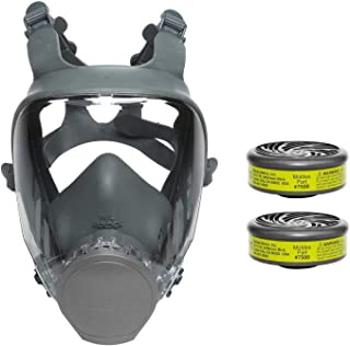 Moldex 9000 Series Reuasble Full Face Respirator/Mask with 7500 Formaldehyde Cartridge (1 Each) (Large)