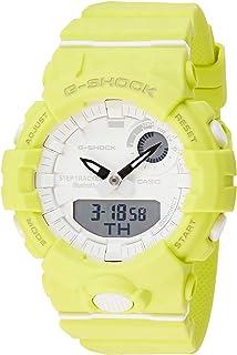 ساعة كاسيو جي شوك للرجال كواترز انالوج رقمية بسوار من الراتنج -GMA-B800-9ADR