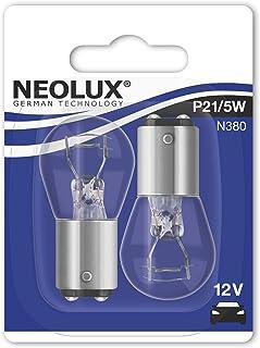 Neolux N380 02B P21/5W, Blinklichtlampe, 12V, Doppelblister, Anzahl 2