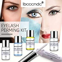 Flurries ❦ 👀 ❦ Eyelash Perming Kit, Eyelash Extensions Set, Semi-Permanent Lash Lifts Curling Wave and Nutritious Growth Treatments for Both Home & Salon Professional Use