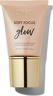 Milani Soft Focus Glow Complexion Enhancer - Nude Glow (1.59 Ounce) Vegan, Cruelty-Free Liquid Highlighter that Brightens Skin & Diffuses Fine Lines