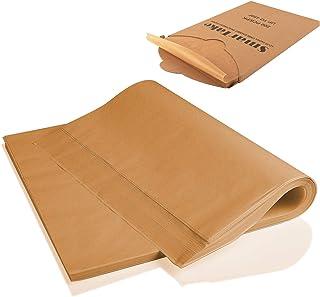 SMARTAKE 200 Pcs Parchment Paper Baking Sheets, 12x16 Inches Non-Stick Precut Baking Parchment, Perfect for Baking Grillin...