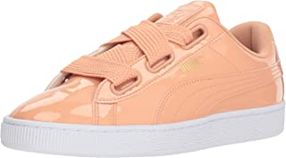 PUMA Women's Basket Heart Patent