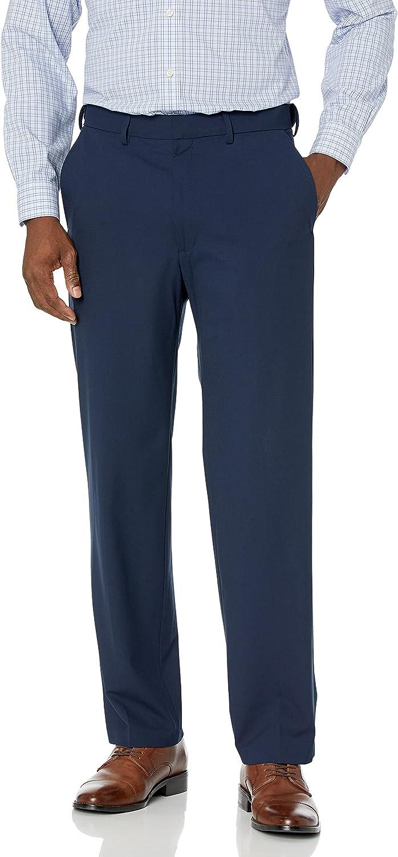 J.M. Haggar mens 4-way Stretch Solid Gab Classic Fit Suit Separate Pant