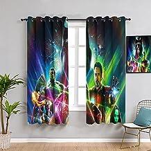 Kamer verduisteringsgordijnen Superhero infinity war kunstwerk Chic slaapkamer woonkamer gordijnen 100x96 inch
