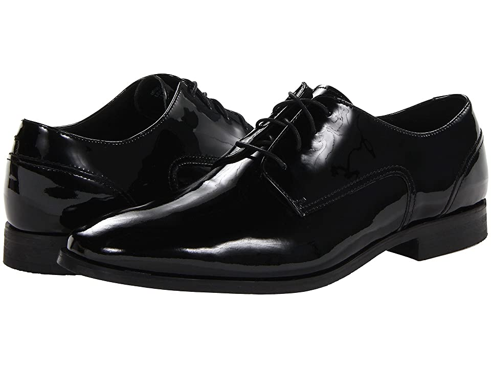 Florsheim Jet Plain Toe Oxford (Black Patent) Men