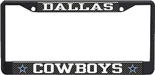 Stockdale Dallas Cowboys NFL Laser Chrome Metal License Plate Frame Tag Holder …